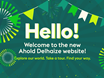 Ahold Delhaize launches fresh, new website